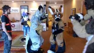 Telephone and Radio Chirp Chirp at Arizona Fur Con 2013.