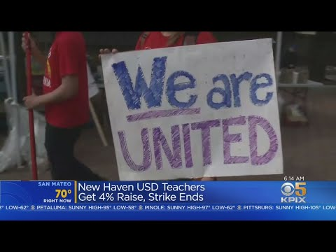 New Haven School District Teacher Strike Ends With Raise For Educators