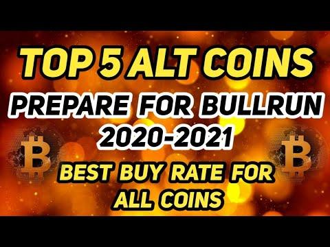 Top 5 Alt Coins | 2020-2021 | Alt Coins Portfolio Management | BullRun#TamilCryptoSchool