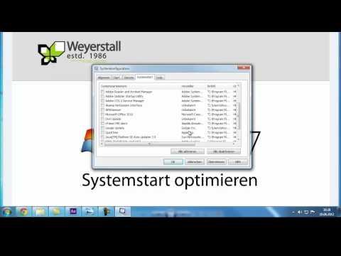 Windows 7 Start Beschleunigen - Systemstart Optimieren