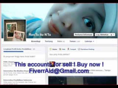 Facebook 100% real old accounts buy sell ! usa uk canada india indonishia