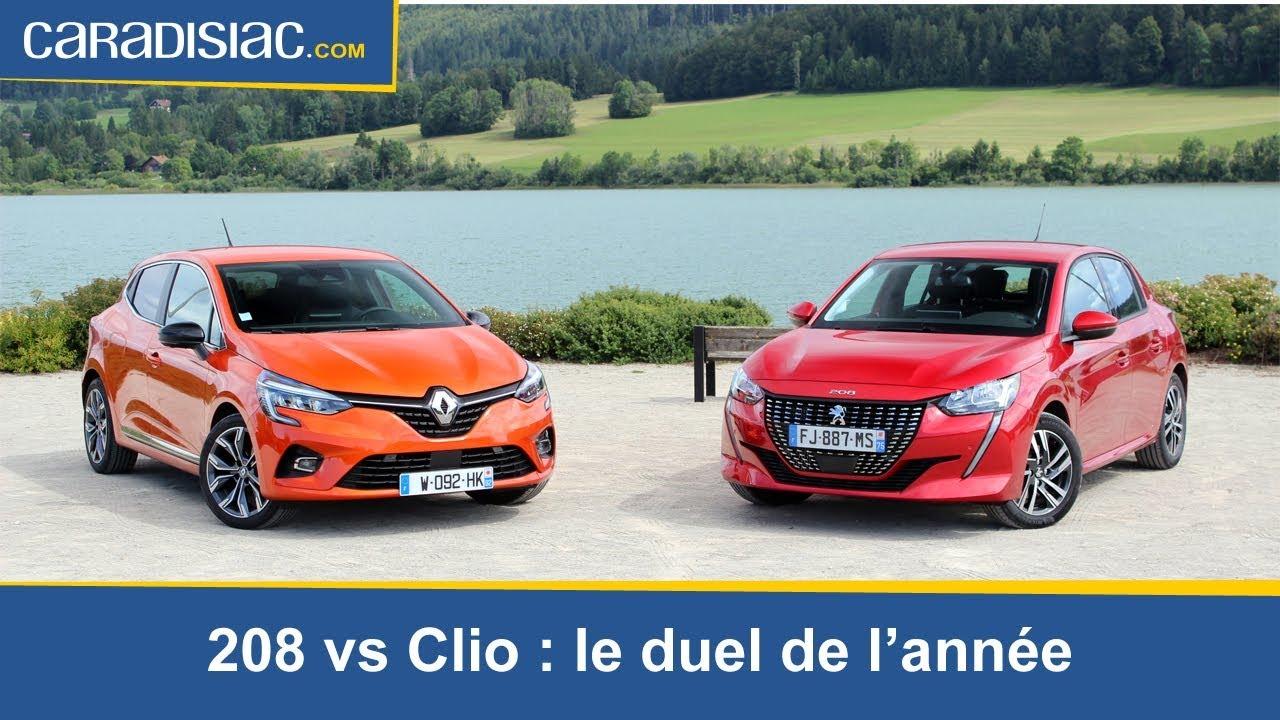 Download Comparatif -   La nouvelle Peugeot 208 (2019)  défie la Renault Clio 5