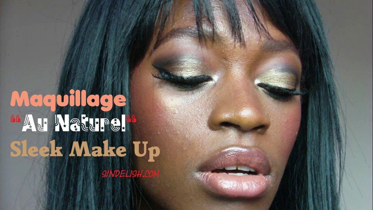 tuto maquillage nude maquillage peau noire tons marron. Black Bedroom Furniture Sets. Home Design Ideas