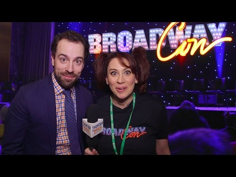 Lesli Margherita Does BroadwayCon, From Family Feud to the ...
