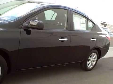 N7165 2012 Nissan Versa Super Black Youtube