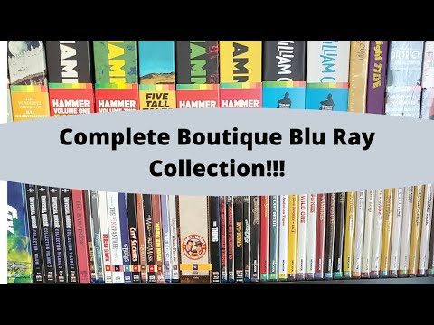 Complete Boutique Blu Ray Collection! Criterion, Indicator, Arrow, Kino Lorber And More...