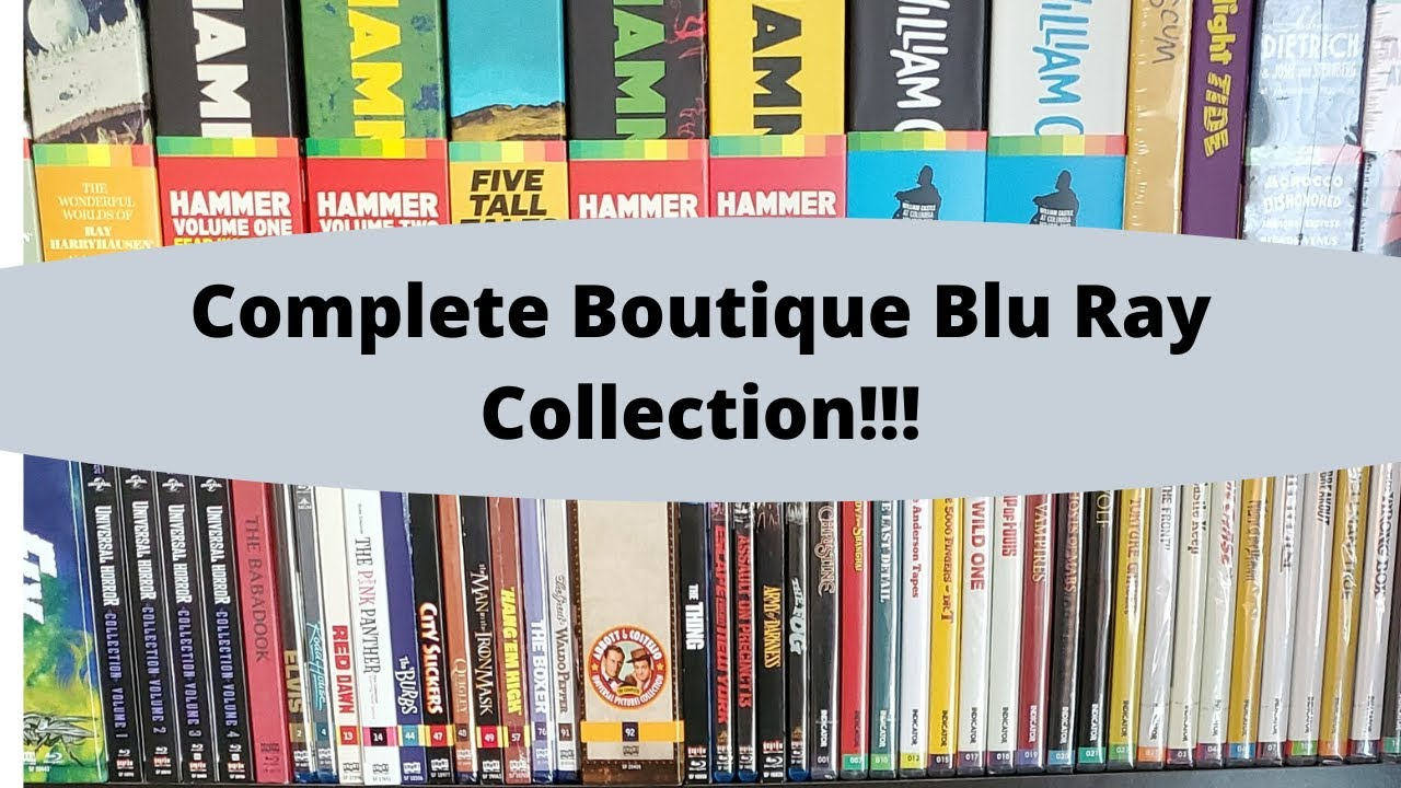 Download Complete Boutique Blu Ray collection! Criterion, Indicator, Arrow, Kino Lorber and more...