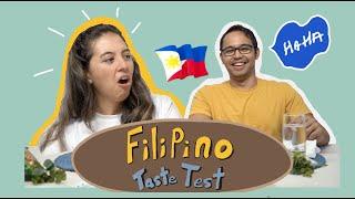 Filipino Taste Test - BALUT AT THE END