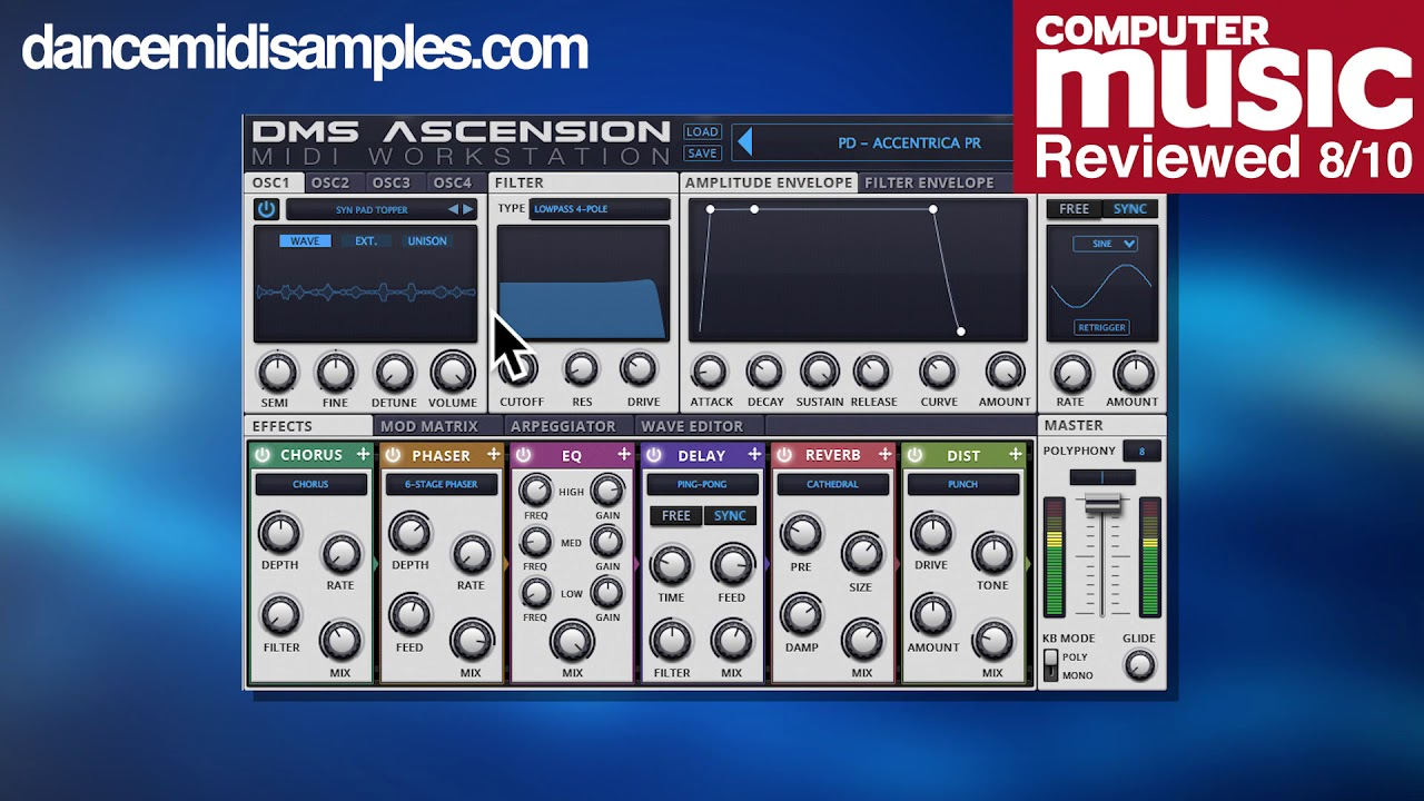 Ascension VST Synthesizer - Version 1.0.1 Out Now!