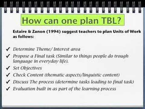 task based language teaching approach lesson plan This article demonstrates a task-based language teaching class in chinese context, and it follows the three-stage tblt framework: pre-task task cycle and the.