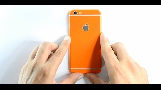 EasySkinz GLOSSY iPhone 6 Skin,  Wrap - Installation / Review