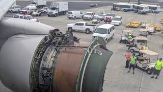 United Airlines engine cover falls off during flight, horrifies passengers