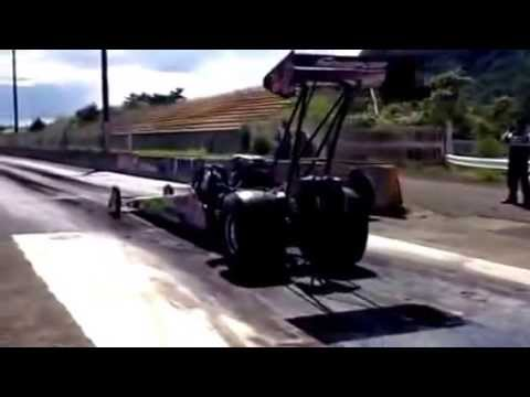 BROADCASTER Top Fuel Dragster School at JAPAN DRAG RACEWAY