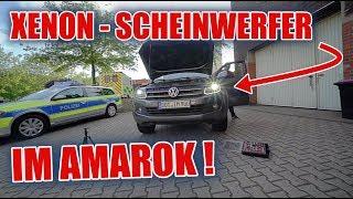 XENON Scheinwerfer im VW AMAROK nachrüsten ✊🏻😁 | ItsMarvin