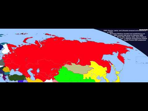 1866 Territorial evolution of Russia and the USSR