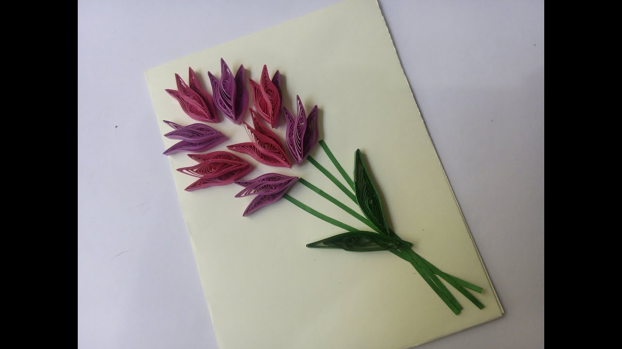 Quilling cards designs images for Quilling designs how to make