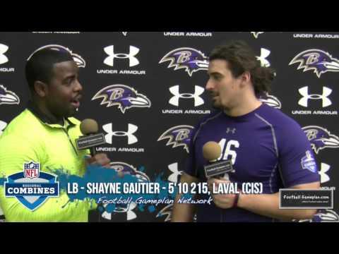 Football Gameplan's 2016 NFL Regional Combine Interview: Shayne Gauthier, Laval
