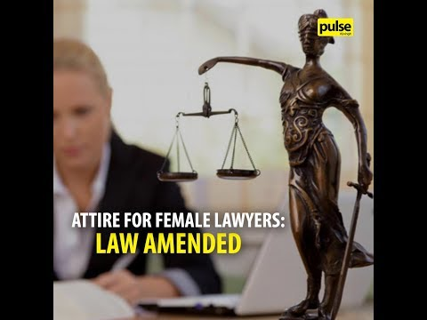 Courtroom Attire for Female Sri Lankan Lawyers: Law Amended