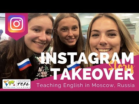 Teaching English in Moscow, Russia - TEFL Social Takeover wi