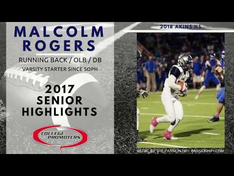 Malcolm Rogers - 2017 Senior Season Highlights