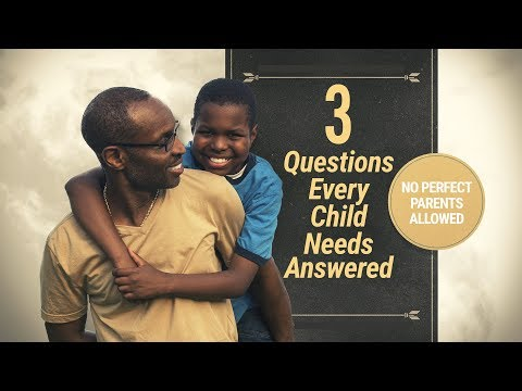 The ROCKS Perth -  3 Questions Every Child Needs answered - Part 3 (11AM)