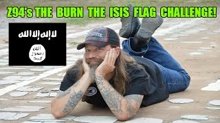 """The """"Burn the ISIS Flag Challenge"""""""