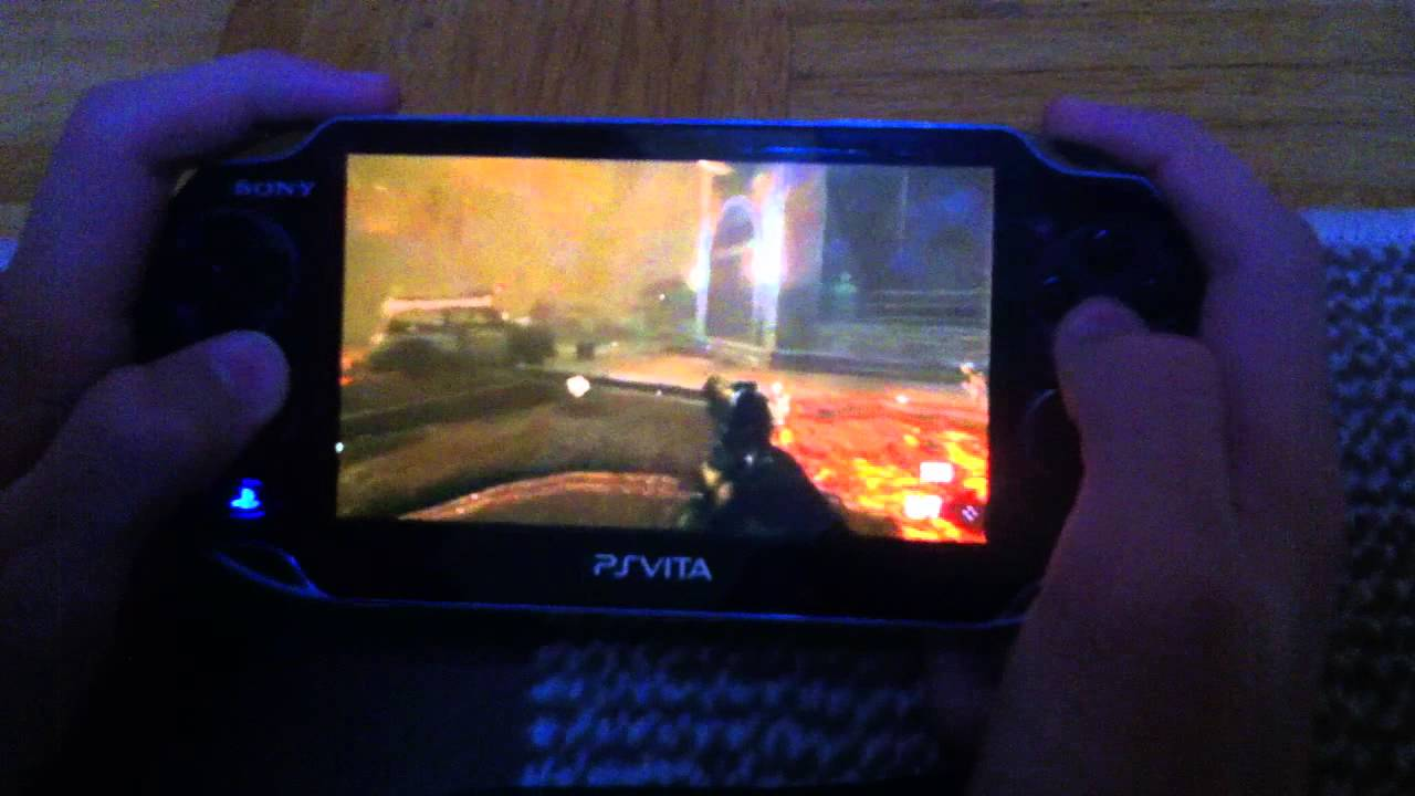 Ps Vita Cod Zombies Call Of Duty Black Ops 2 On Ps Vita Zombie Mod