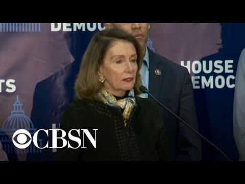 Nancy Pelosi Slams Trump's Sanctuary City Plan As