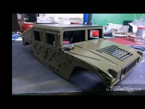 RC build Hummer HMMWV M1026