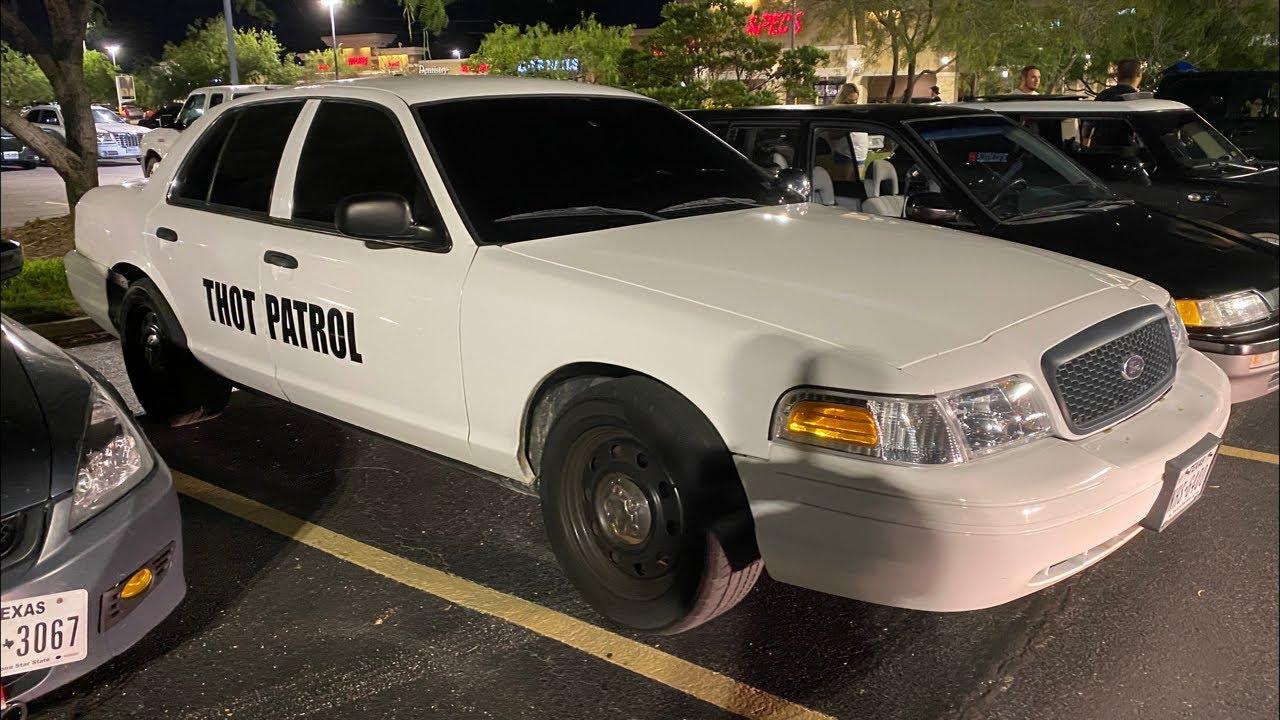 THOT Patrol Shuts Down Car Meet (WE BACK!)
