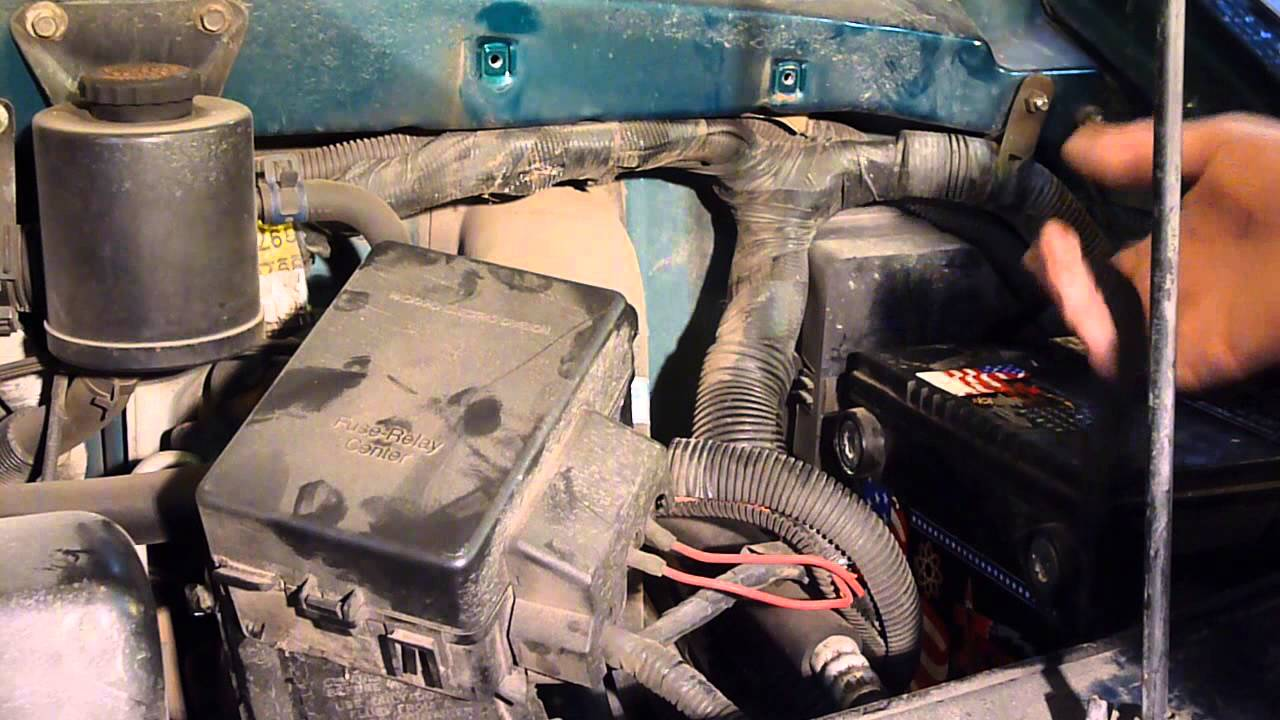 Astro Van Easy Battery Removal