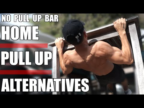 HOME PULL UP ALTERNATIVES WITHOUT A PULL UP BAR | 3 AWESOME WORKOUT HACKS!