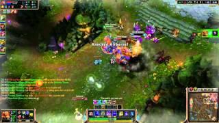 League of Legends - Low Elo Clips - HexaKill