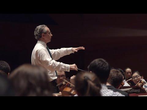 Fabio Luisi Conducts the Juilliard Orchestra | Juilliard Inside Look