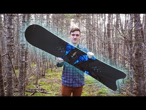 DIY Swallowtail/Fish Snowboard