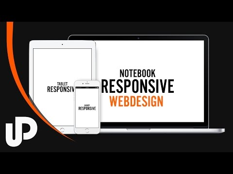 Responsive Webdesign mithilfe von CSS Media Querys & Java Script! | Tutorial