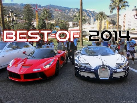 BEST Supercars SOUNDS Of 2014 - French Riviera Edition