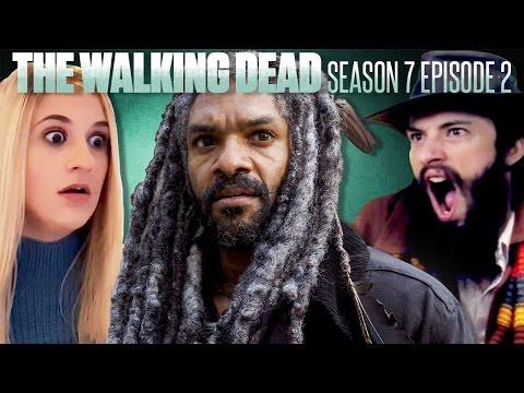 The Walking Dead: Season 7 Episode 2 Fan Reaction Compilation