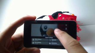Camera Interface on the Nokia N900