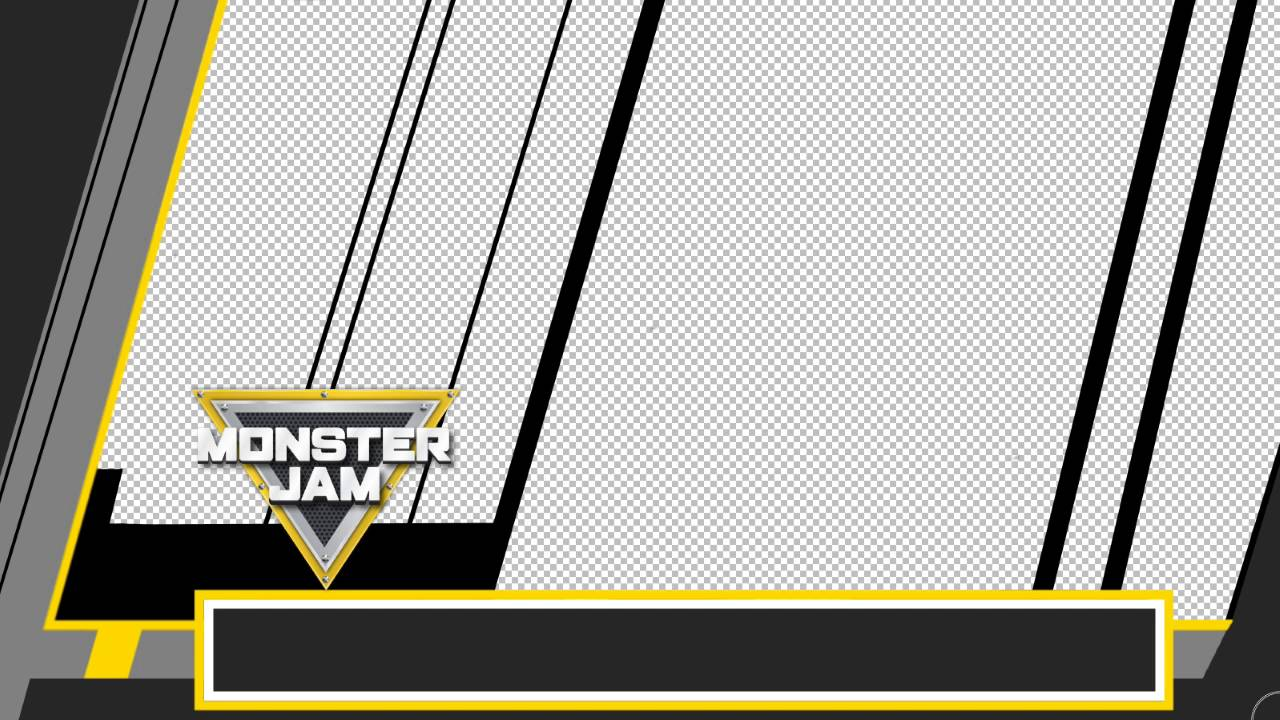 2016 monster jam driver template