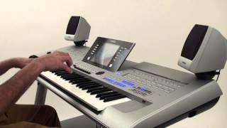 Yamaha Tyros4 Premium Style Demonstration - Kids Songs 2