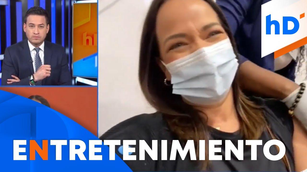 Adamari López se vacuna contra el COVID-19 y así fue su experiencia | hoyDía | Telemundo