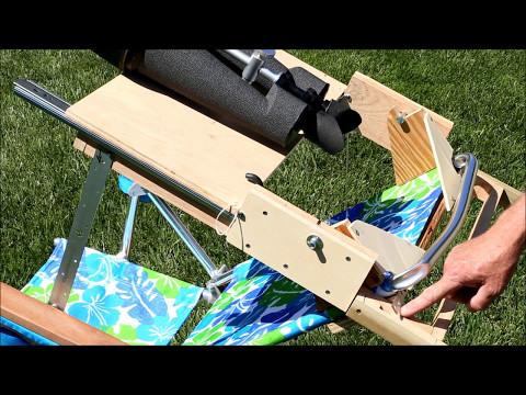 How To Build An Astronomical Binocular Chair
