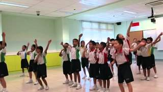 Telok Kurau Primary School CDP H.O.P.E. HipHop Dance Programme 2014 for P2 Students
