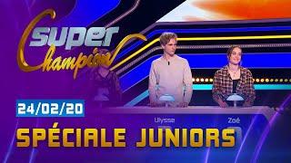 SPECIALE JUNIORS - EMISSION DU 24 FÉVRIER 2020