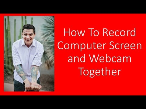 How To Record Computer Screen and Webcam Together: screencast-o-matic