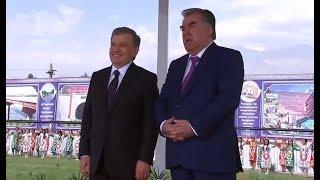 Президент Узбекистана Шавкат Мирзиёев 27 сентября 2018 года прибыл с визитом в Таджикистан