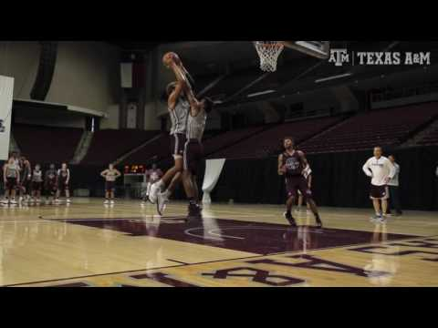 Texas A&M Men's Basketball - Day 1 of Fall Practice