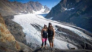 Backpacking Olympic Nat'l Park Washington | Hoh River Trail | Blue Glacier
