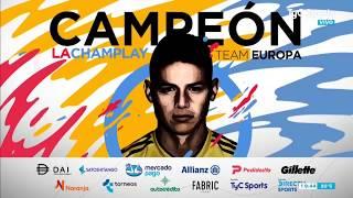 Champlay: JAMES RODRÍGUEZ CAMPEÓN vs Paulo Dybala
